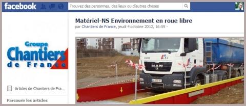 Chantiers de France - Newsletter